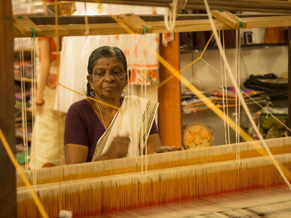Saree making process
