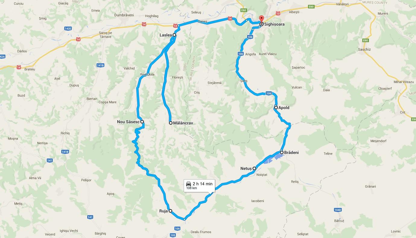 cu bicicleta prin transilvania turism responsabil satele sasesti