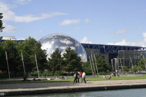 Locuri din Paris - Parc de la Villette