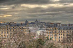 Locuri din Paris - Buttes Chaumont