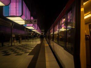 Arta la metrou - Hamburg
